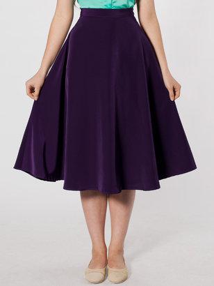American Apparel Mid-Length Circle Skirt