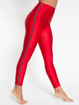 American Apparel Nylon Tricot High-Waist Zipper Legging