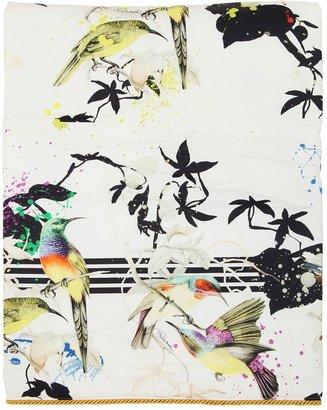 Bird Ramage Blanket