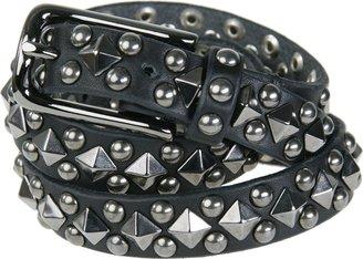 Riccardo Forconi Studded Leather Belt