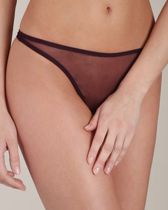 Eres Le Tulle Promesse Thong