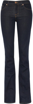 J Brand Denim 818 Power Stretch mid-rise bootcut jeans
