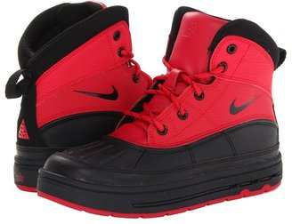 Nike Woodside 2 High (Little Kid) (Distance Red/Black) Boys Shoes