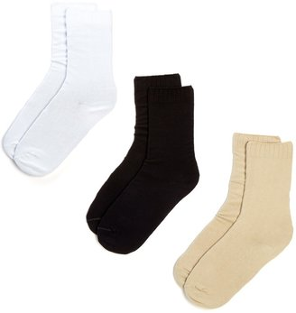 Hue New Loafer Socks - Pack of 3