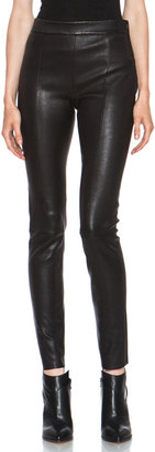 Acne Studios Best Lambskin Leather Pant