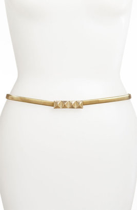 Lulu 'Pyramid' Metal Stretch Belt