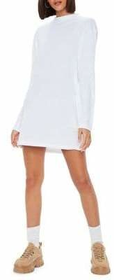 Missguided Long-Sleeve T-Shirt Dress