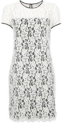 Diane von Furstenberg 'Barbie' lace t-shirt dress