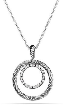 David Yurman Mobile Pendant with Diamonds on Chain $650 thestylecure.com