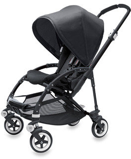 Bugaboo The Bee All Black Special Edition Stroller and Accessories