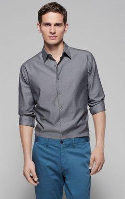 Theory Sylvain Cotton Stretch Shirt