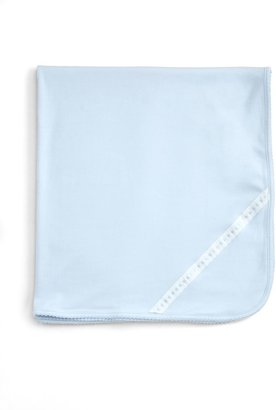 Royal Baby Ribbon-and-Dot Receiving Blanket