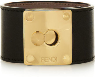 Fendi Leather cuff