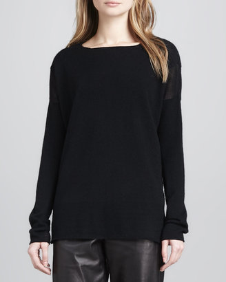 Vince Boat-Neck Cashmere Sweater