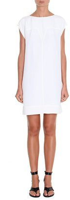 Tibi Silk Paneled Dress