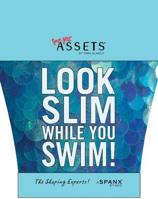 Spanx ASSETS® Halter Swim Dress