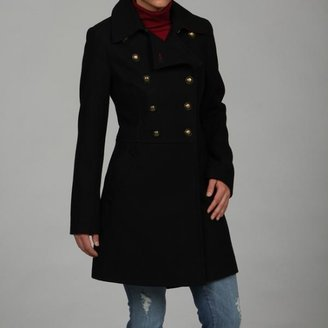 Tommy Hilfiger Wool Double-breasted Military Coat $88.99 thestylecure.com
