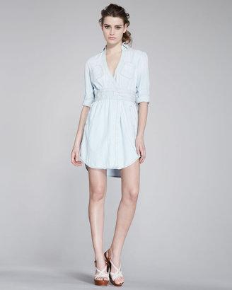 Diane von Furstenberg Denim Wrap Dress