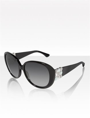 David Yurman Chiclet Sunglasses, Black