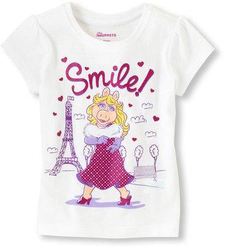 Children's Place Miss Piggy Paris graphic tee