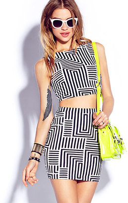 Forever 21 Blurred Lines Cutout Dress