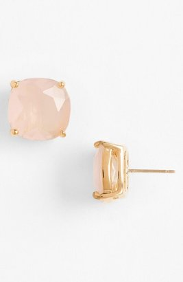 Kate Spade Mini Small Square Semiprecious Stone Stud Earrings