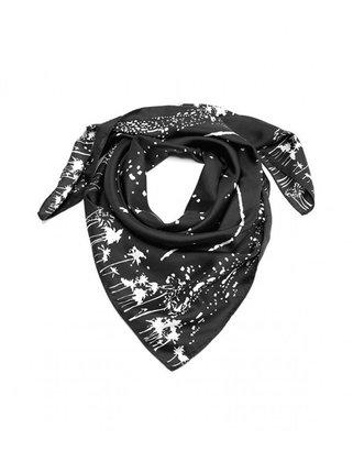 Carnet de Mode Esther Bonta Paris Bellagio Black M Silk