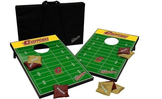 Tailgate Central michigan chippewas toss beanbag game