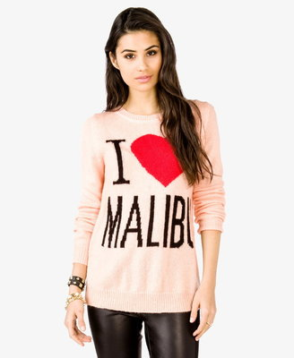 Forever 21 I Heart Malibu Sweater