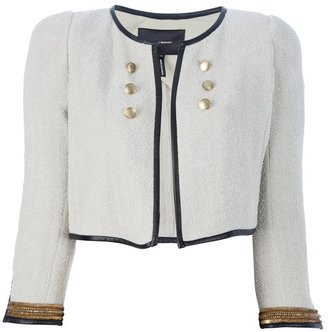 Isabel Marant Cropped military jacket