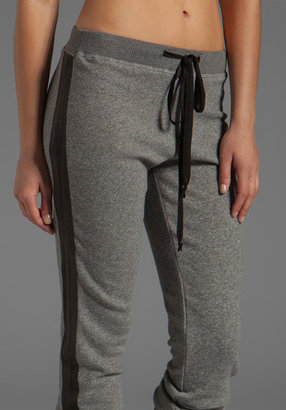 Wilt Vintage French Terry Leather Mix Sweatpants