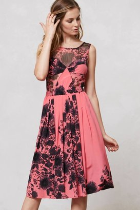 Anthropologie Kimono Floral Dress