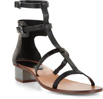 BCBGMAXAZRIA Cross T-Strap Day Sandal