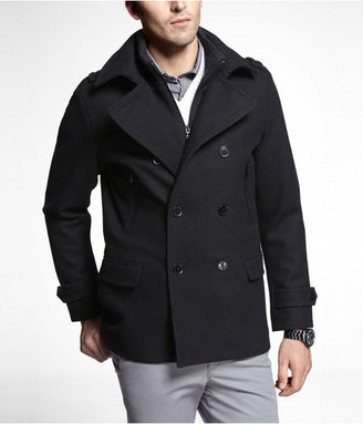 Express Tech Water Resistant System Peacoat