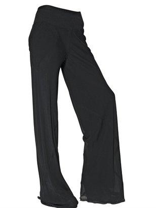 Rick Owens Double Silk Georgette Trousers