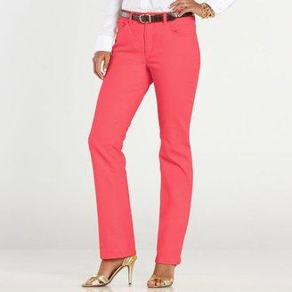 Chaps color straight-leg jeans