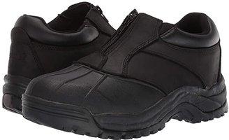 Propet Blizzard Ankle Zip (Brown/Black) Men's Cold Weather Boots