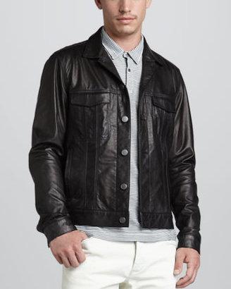Theory Lambert Leather Jacket