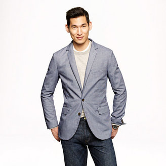 Ludlow sportcoat in mini-houndstooth cotton
