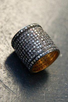 Ronas Rona Pfeiffer Cigar Band Diamond Ring