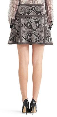 Diane von Furstenberg Flote Fit and Flare Knit Skirt