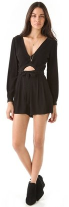 Finders Keepers Finderskeepers The Lovers Romper with Long Sleeves