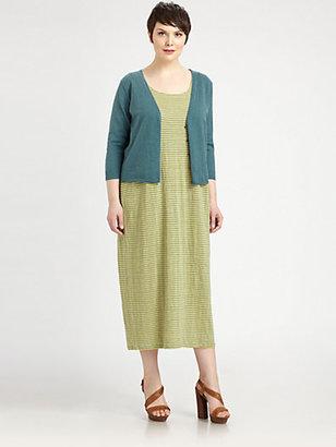 Eileen Fisher Eileen Fisher, Salon Z Striped Linen Dress