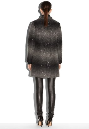 Milly Sequin Ombre Coat