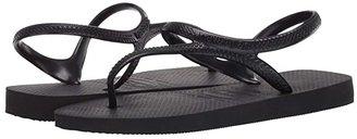 Havaianas Flash Urban Flip Flops (Black) Women's Shoes
