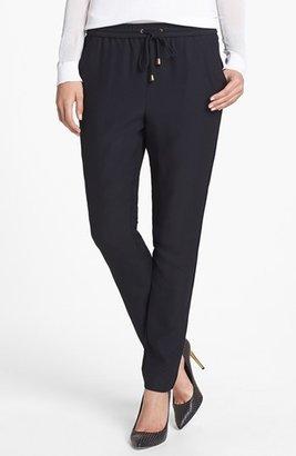Vince Camuto Tie Waist Crepe Pants (Regular & Petite)