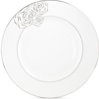 Monique Lhuillier Waterford Dinnerware, Sunday Rose Dinner Plate