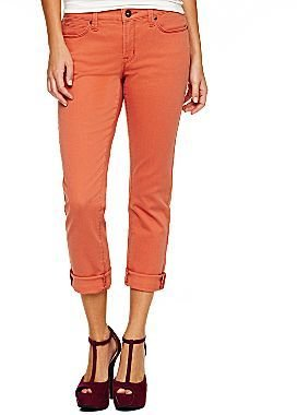 JCPenney jcpTM Slim-Fit Ankle-Length Colored Jeans