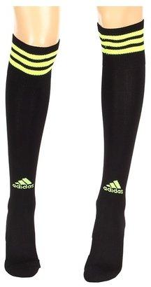 adidas Copa Zone Knee Socks Medium 3-Pair Pack (Black/Electricity 2) - Footwear