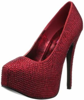 Pleaser USA Women's Teeze 06 Rhinestone Platform Pump